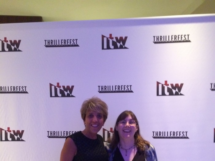 C J Lyons in New York City At Thrillerfest 2015