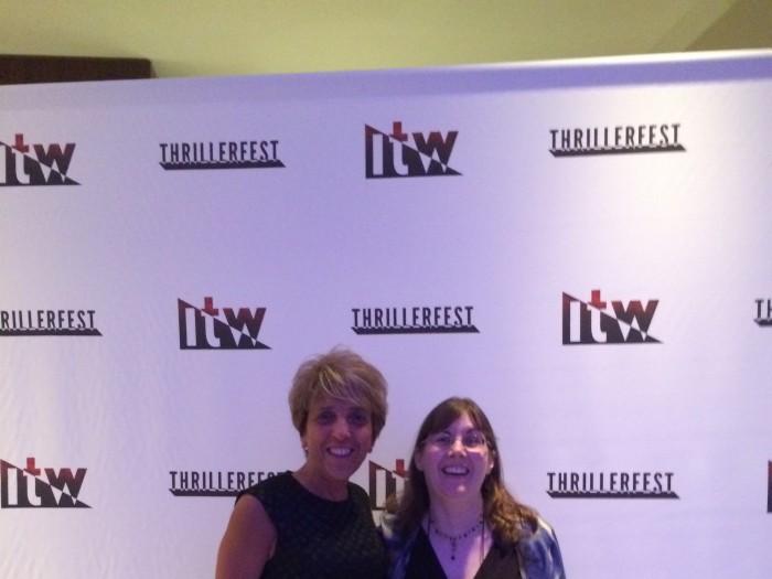 C J Lyons in New York City At Thrillerfest 2015
